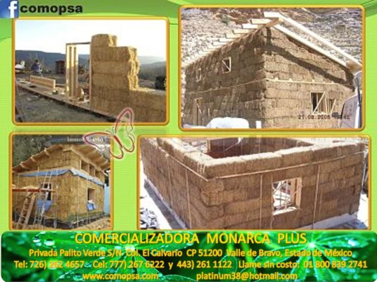 9 Construcciones con paja