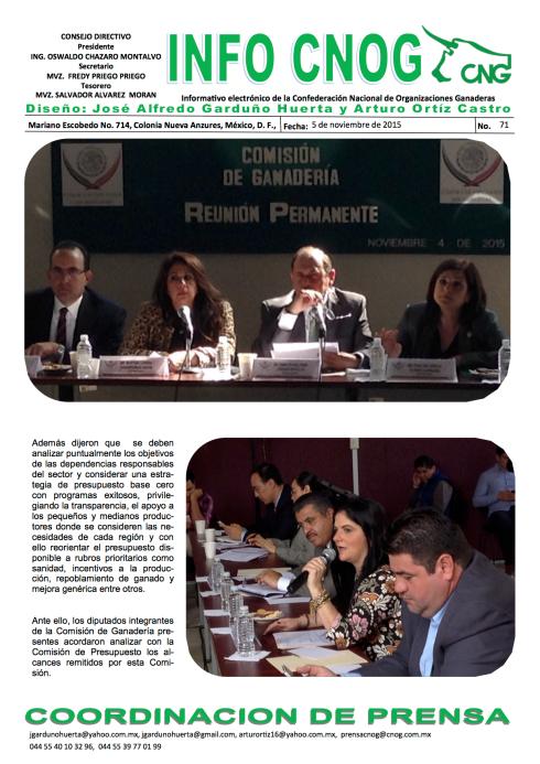 INFO CNOG 71 Comisión de Ganadería a(1)