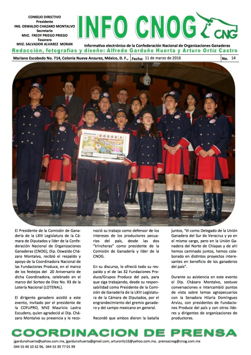 INFO CNOG 14 Aniversario de COFUPRO b
