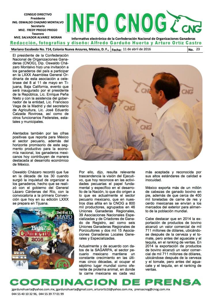 INFO CNOG 23 Asamblea CNOG[1]a