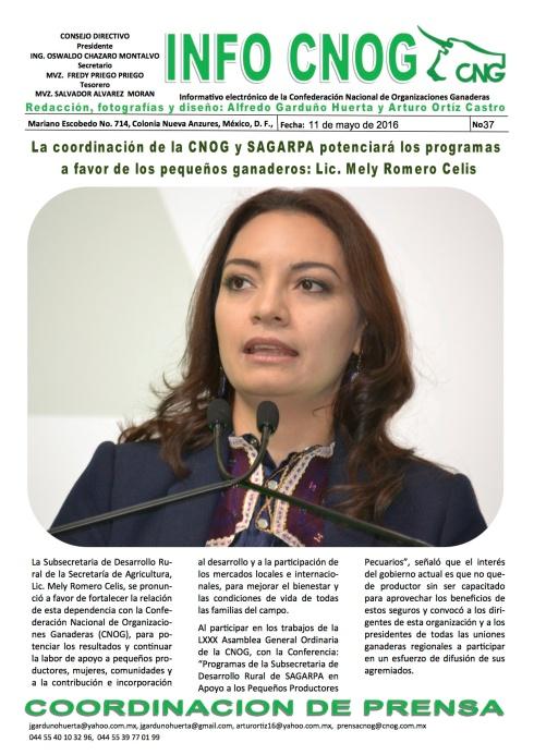 INFO CNOG 37 Mely Romero a