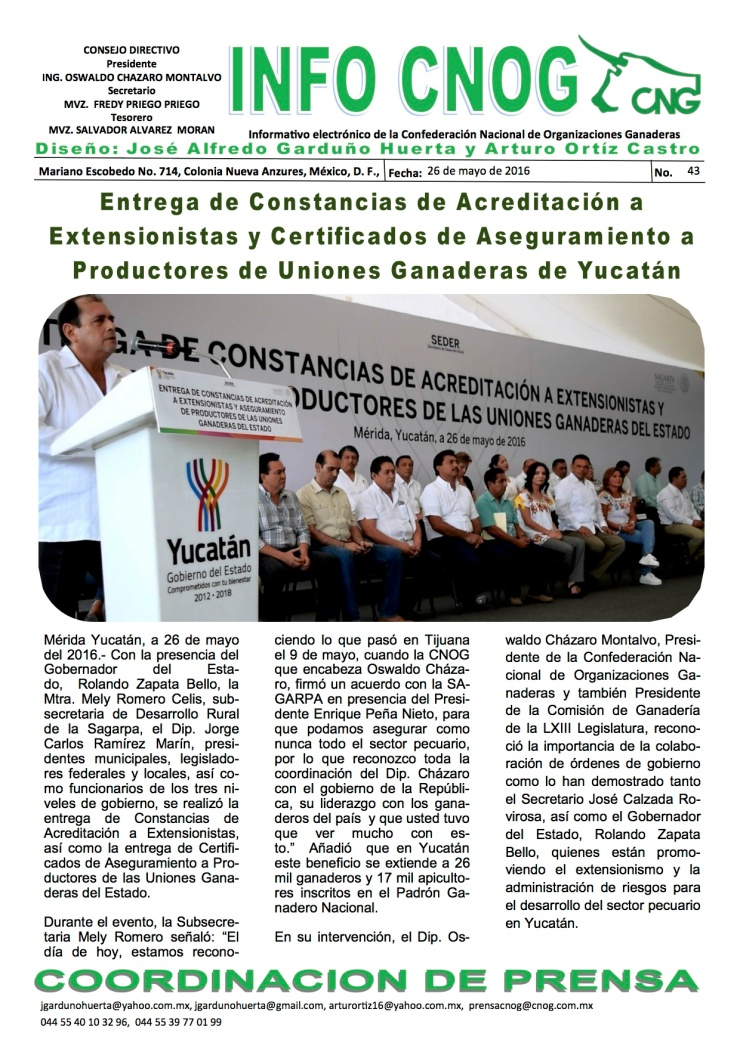 INFO CNOG 44 Yucatán a