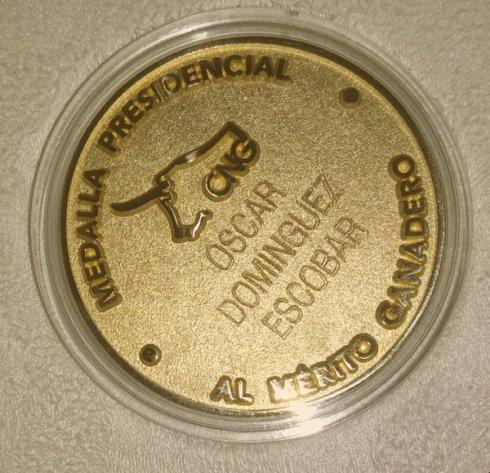 medalla oscar