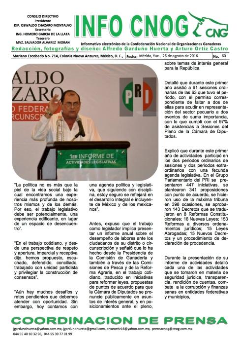INFO CNOG 60 Informe de actividades OCM 3