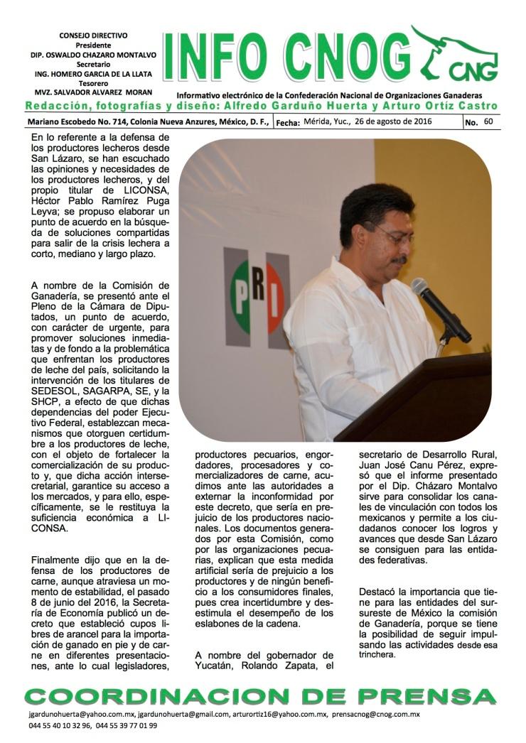 INFO CNOG 60 Informe de actividades OCM 5