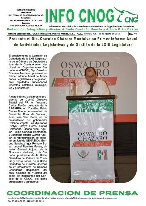 INFO CNOG 60 Informe de actividades OCM