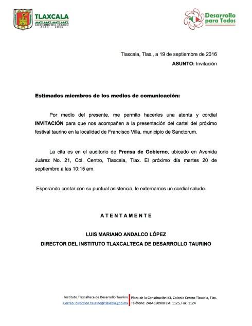 invitacion-presentacion-cartel-festival-taurino-francisco-villa